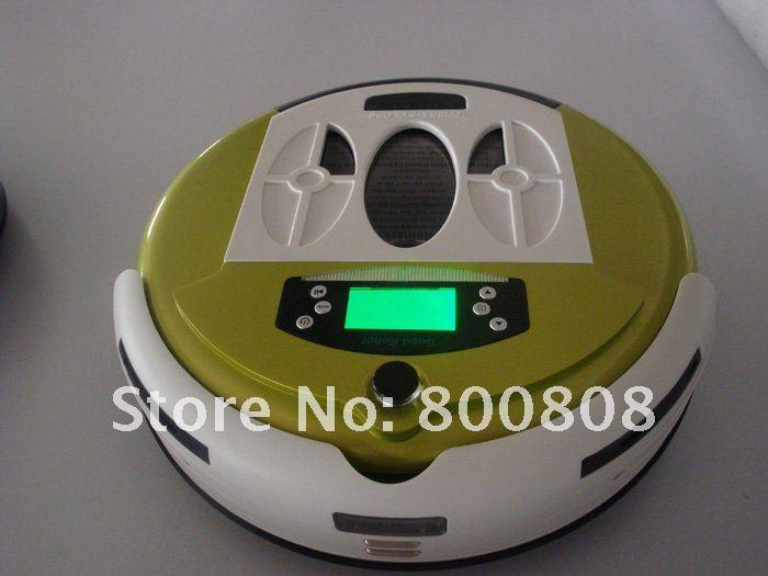 LL-272 - робот-пылесос, дезинфекция, протирание полов, ароматизация воздуха (желтый цвет)