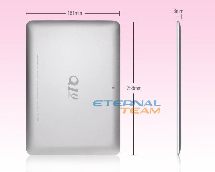 Amoi Q10 Dual Core - планшетный компьютер, Android 4.0.4, 10.1