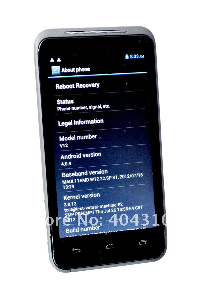 Star N9770/V12 - смартфон, Android 4.0, MTK6577 (1.2GHz), 4.3