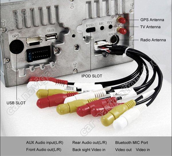MZL-22 - автомобильная магнитола, WinCE 6.0, 7