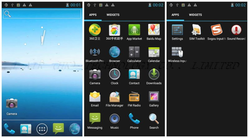 Star I3000 - смартфон, Android 4.0.3, MTK6575 (1GHz), 4