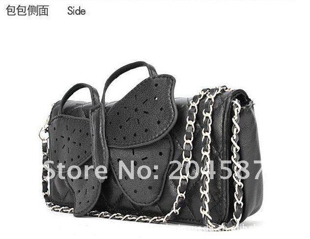 Модные женские сумки-почтальонки из полиуретановой кожи с бабочками NB001