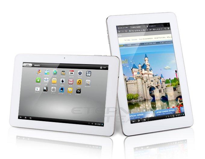 Ampe A10 Quad Core (4 ядра) - планшетный компьютер, Android 4.0.3, 10.1