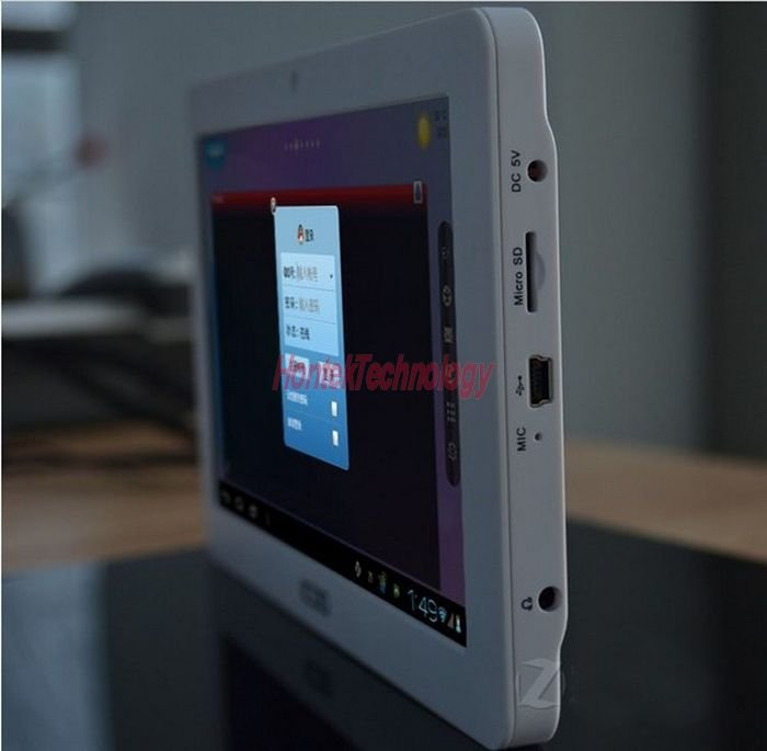Icoo D50 Luxury II - планшетный компьютер, Android 4.0.3, Allwinner A13 (1.2GHz), 7