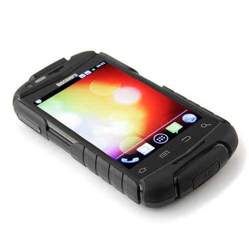 Discovery V5 Rugged - смартфон, Android 2.3.5, Spreadtrum SC8810 (1GHz), 3.5