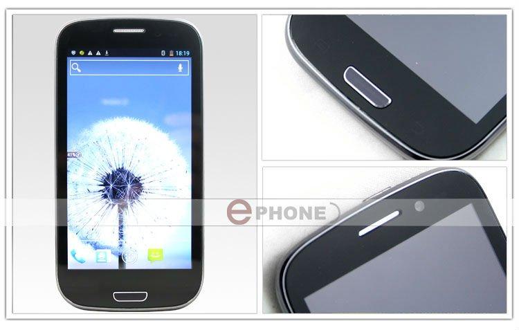 Star B92M - смартфон, Android 4.0.4, MTK6577 (1.2GHz), 4.8