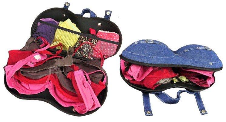 Дорожная сумка-чехол для бюстгалтеров