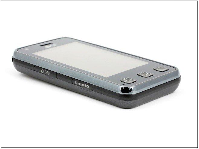 LG KC910 Renoir - мобильный телефон, 3