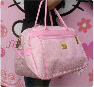 Вместительная сумка HelloKitty для путешествий и похода по магазинам, для ношения на плече и в руках