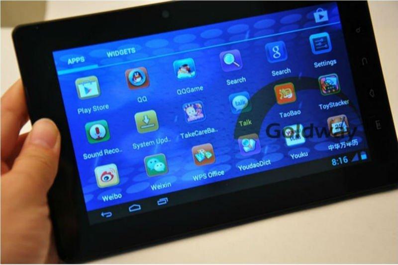 FreeLander PD20 - планшетный компьютер, Android 4.0.3, TFT LCD 7