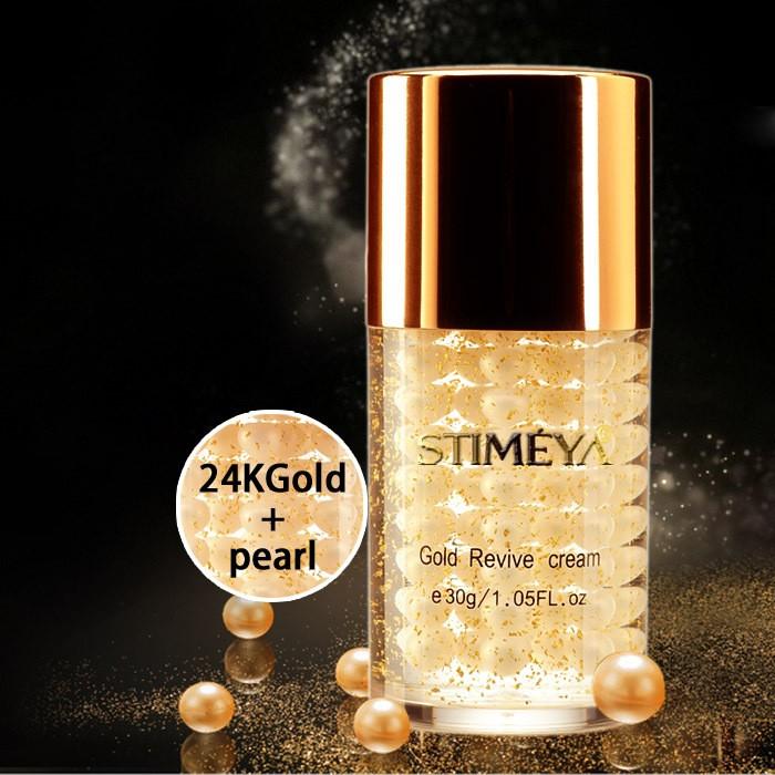 Антивозрастной крем на основе активного золота