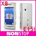 "Sony Ericsson Xperia X8 - смартфон, Android 2.1, 3.0"" TFT LCD, 168MB RAM, 128MB ROM, Bluetooth, 3G, GPS, 3MP камера"