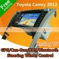 "Saddle MIC-46 - автомобильная магнитола , 7"" TFT LCD, Touch Screen, GPS, 500MHz, 128MB RAM, MP3/MP4, DVD/CD, SD/USB, TV/FM, Bluetooth для Toyota Camry (2012)"
