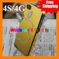 Чехол для iPhone 4 4S с кристаллами Сваровски