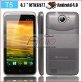 "Titan II T5 - смартфон, Android 4.0.4, MTK6577 (2x1.2GHz), qHD 4.7"" TFT LCD, 512MB RAM, 4GB ROM, 3G, Wi-Fi, Bluetooth, GPS, 5MP задняя камера, 0.3MP фронтальная камера"