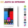 "Jiayu G4t - смартфон, Android 4.2, MTK6589 Turbo Quad Core 1.5GHz, 4.7"" IPS 720Р, 2 SIM-карты, 1ГБ RAM, 4ГБ ROM, поддержка карт microSD, WCDMA/GSM, Wi-Fi, Bluetooth, GPS, FM-радио, основная камера 13МП и фронтальная камера 3МП"