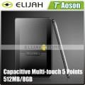 "Aoson M7L - планшетный компьютер, Android 4.0.4, 7"" TFT LCD, Rockchip2906 (1GHz), 512MB RAM, 8GB ROM, Wi-Fi, HDMI, 0.3MP фронтальная камера"