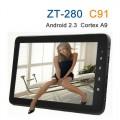 "Zenithink ZT280 C91 - планшетный компьютер, Android 4.0, 10.2"", 1.0 GHz, 1GB RAM, 8GB ROM, HDMI, Wi-Fi"