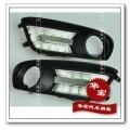 Вставки с  фарами дневного света для Nissan Tiida DRL, LED, 2шт