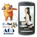 "Lenovo A65 - смартфон, Android 2.3, 3.5"" сенсорный экран, 3G, Wi-Fi, GPS, 2 SIM"
