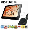 "Visture V4 - планшетный компьютер, Android 4.0.4, 9.7"" IPS, Rockchip RK3066 (2x1.6GHz), 1GB RAM, 16GB ROM, Wi-Fi, HDMI, Bluetooth, 2MP фронтальная камера, 2MP задняя камера"