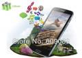 "Hero Caesar A9600 - смартфон, 2 SIM-карты, Android 4.1.2, 5.3"" qHD IPS, MTK6589 (4 х 1.2ГГц), 1ГБ RAM, 4ГБ ROM, поддержка microSD, 3G, Wi-Fi, GPS, Bluetooth, FM-радио, основная камера 8МП и фронтальная камера 5МП"