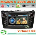 "G-8912B - Автомагнитола для Mazda 6 (2008-2011), 7"", GPS, 3G, FM, Bluetooth, TV, IPOD"