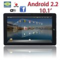 "Cpam Flytouch 3 / SuperPad3 - планшетный компьютер, Android 2.3, 10.2"", 1.0 GHz, 512MB RAM, 4GB ROM, GPS, 3G, Wi-Fi"