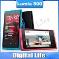 "Nokia Lumia 800 - смартфон, Microsoft Windows Phone 7.5 Mango, Qualcomm MSM8255 Snapdragon 1.4 GHz, 1.0GHz, 3.7"", 1 MICRO SIM-карта, 512МБ RAM, 16ГБ ROM, WCDMA/GSM, Wi-Fi, Bluetooth, GPS, FM-радио, основная камера 8МП"