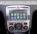 "Witson W2-D748P - автомобильная магнитола, 7"" TFT LCD, Touch Screen, 3G, GPS, WinCE 6.0, Bluetooth, DVD, FM/TV для Peugeot 308/408"