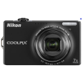 "Nikoon Coolpix S6000 - цифровая камера, 14MP, 2.7"" TFT LCD, 7x оптический зум, подавление вибрации"