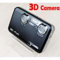 """POP-3DV - цифровая 3D-камера, 12MP, 3"""" TFT LCD, 3D-очки, 8x цифровой зум, поддержка 3D-телевизоров"""