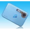"ISSE DC-500F - цифровая мини-камера, 12MP, 2.4"" LTPS LCD, 4x цифровой зум"