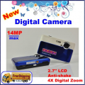 """TS580 - цифровая камера, 14MP, 2.7"""" TFT LCD, 4x цифровой зум, 3x оптический зум"""