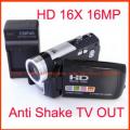 "Digitaldeal HD-A70 - цифровая камера, HD, TV-выход, 16MP, 3.0"" TFT LCD, 16x цифровой зум"