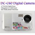 "UTrust DC-C60 - цифровая камера, 12MP, 2.7"" TFT LCD, 4x цифровой зум"