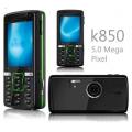 "k850i - мобильный телефон, 2.2"" TFT LCD, 3G, FM, MP3"