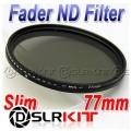 Фильтр нейтральной плотности Slim Fader ND 77mm (ND2-ND400)