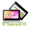 "Flytouch 7/SuperPad VII - планшетный компьютер, Android 4.0, 10.2"", 1.5GHz, 1GB RAM, 4GB ROM, HDMI, Wi-Fi, GPS"