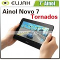"Ainol Novo 7 Tornados - планшетный компьютер, Android 4.0, 7"", 1GHz, 1GB RAM, 8GB ROM, Wi-Fi"