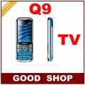 """Q9 - мобильный телефон  2.2"""" LCD, FM, MP3, 2 SIM, TV-ресивер, русская клавиатура, камера 1.3МП"""