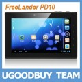 "FreeLander PD10 Leader 16GB - планшетный компьютер, Android 4.0.3, 7"" IPS, NVIDIA Tegra 2 T20 (1.2GHz), 1GB RAM, 16GB ROM, Wi-Fi, HDMI, Bluetooth, GPS, 2MP фронтальная камера, 5MP задняя камера"