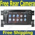 "SZH-242 - автомобильная магнитола, 7"" TFT LCD, Touch Screen, GPS, Windows CE 6.0, MP3/MP4, DVD/CD, SD/USB/iPod, TV/FM, Bluetooth для Suzuki Grand Vitara (2005-2011)"