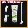 Гигиенический комплект по уходу за собакой, зубная паста, зубная щетка