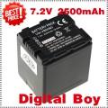VW-VBN260 - аккумулятор Li-ion 2500 мАч для Panasonic HDC-HS900 HDC-Tm900