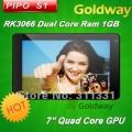 "Pipo Smart S1 - планшетный компьютер, Android 4.1.1, 7"" TFT LCD, Rockchip RK3066 (1.6GHz), 1GB RAM, 8GB ROM, Wi-Fi, HDMI, 2MP фронтальная камера"