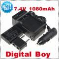 LP-E10 - 3 аккумулятора + зарядное устройство + зарядка для авто, для Canon 1100D KISS X50 REBEL T3