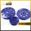 Алюминиевый шкив коленчатого вала для Nissan skyline GTS, GTR, Rb20, RB25, RB30, RB26