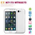 "ET N7175 - Смартфон, Android 4.1, MTK6575 1.0GHz, Dual SIM, 5.3"", 256MB RAM, 256MB ROM, GSM, Wi-Fi, Bluetooth, основная камера 8.0Mp"