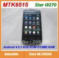 "Star i9270 - смартфон, Android 2.3.6, MTK6515 (1GHz), 3.5"" TFT LCD, 256MB RAM, 256MB ROM, Wi-Fi, Bluetooth, FM, 5MP задняя камера, 0.3MP фронтальная камера"